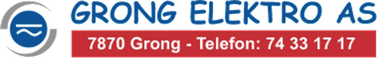 Logo, Grong Elektro AS